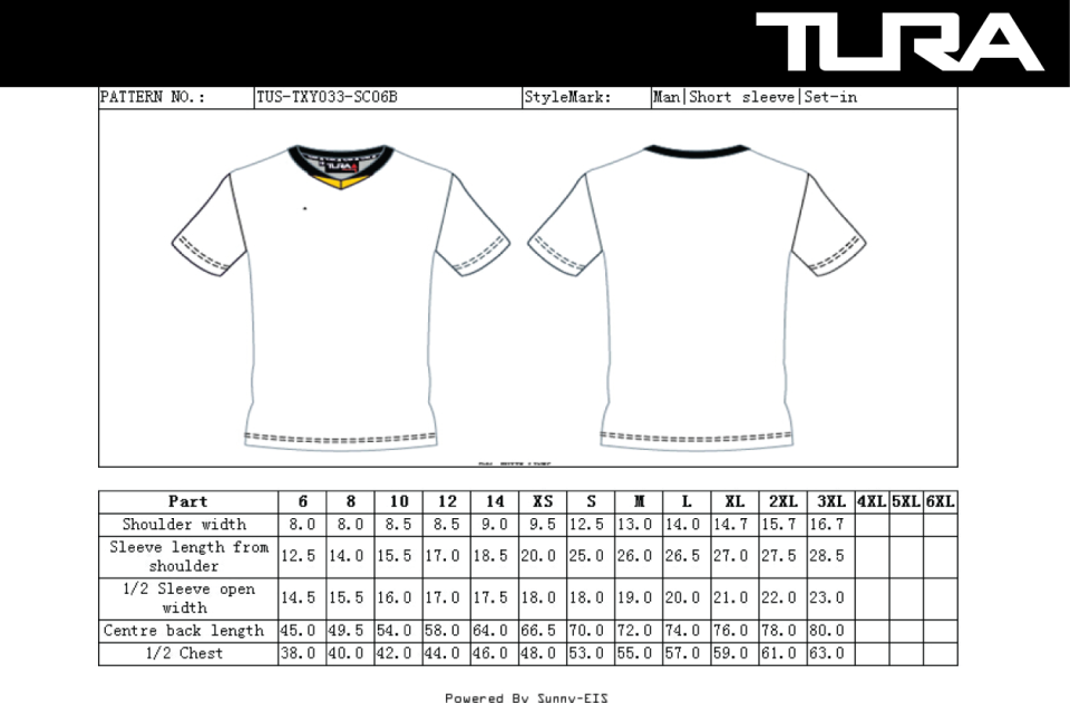 Harbour City T shirts Size Charts-03